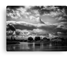Nature's weather eye Canvas Print