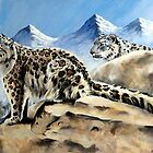 Snow Leopards by Robert David Gellion
