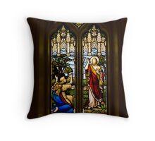 The Resurrection Window, Trinity Anglican Church, Cornwall, Ontario Throw Pillow