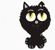 A Cute Black Cat  by Rajee