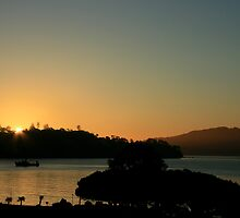 Sausalito Sunrise by Jayne Le Mee