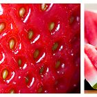 Strawberries and watermelons - Series 2 by Mariann Rea