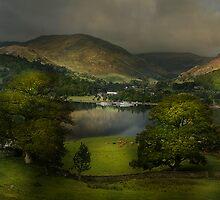 Last light on Ullswater by eddiej
