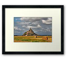 Le Mont St. Michel Framed Print