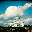 Hilltop View of Helsinki Cathedral by Jonicool