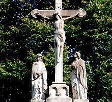 Jesus On The Cross by Marie Sharp