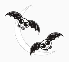 Cartoon Flying Bats by Gravityx9