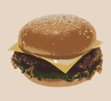 Cheeseburger by Michael Silveira