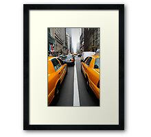 New York 3/4 Framed Print