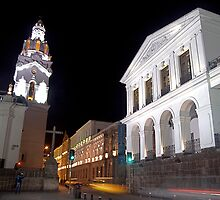Governments Palace at night by alanbrito