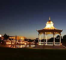 """ Elder Park, Adelaide, South Australia"" by Gail Mew"