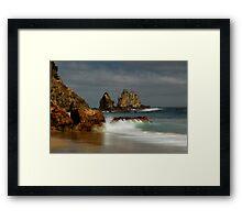 Coromandel coastline 11 Framed Print