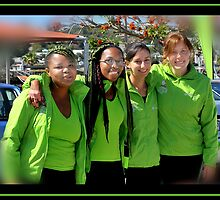 KZN   Girls Team by Warren. A. Williams