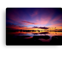 Reflections In Paradise Canvas Print