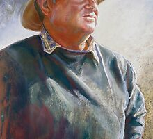 Portrait of Alan Coulson by Lynda Robinson