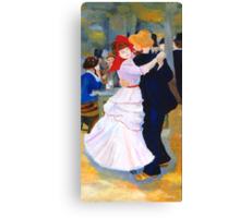 Dance at Bougival after Renoir Canvas Print