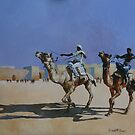 Racing Camels by David McEwen