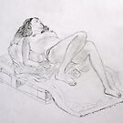 Life Drawing 7 by Mike Paget