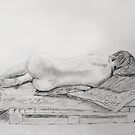 Life Drawing 8 by Mike Paget