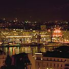 Lucerne by night by Frederic Chastagnol