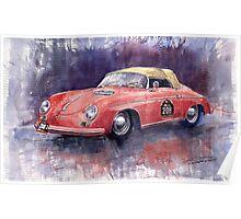 Porsche 356 Speedster Mille Miglia Poster