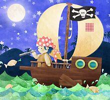 Ship ahoy! by Hannah Chapman
