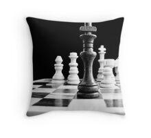 Chess 2 Throw Pillow