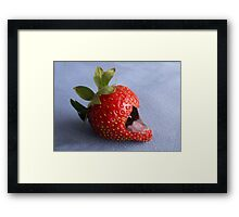 Eat Me If You Dare Framed Print