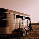 Horse Trailer by Ellinor Advincula
