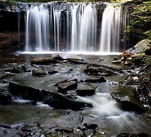 Gentle Falling Water by Mark Van Scyoc