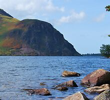 Anglers Crag and Ennerdale Water by Phil Mitchell