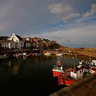 CRAIL FISHING HARBOUR by FLYINGSCOTSMAN