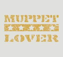 Muppet lover (orange) by Iain Maynard