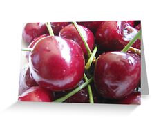 Pick of the cherries Greeting Card