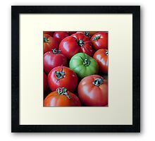 One's Not Reddy Framed Print