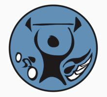 Fitness Logo Badge by Rustyoldtown