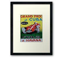 CUBAN CIGAR LABELS Framed Print