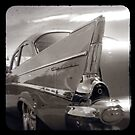 Old Chev b&w ttv by ozzzywoman