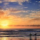 Morning Surf by Ann  Van Breemen