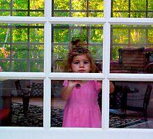 Olivia Through The Window by Jonathan  Green