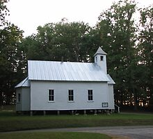 Primitive Baptist Church, or Chapel  by JeffeeArt4u
