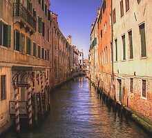 Canal in Venice 4 by David Freeman