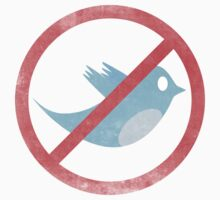DO NOT USE TWITTER by TweetTees