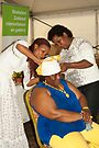 The folding of Curacao traditional head coverings  by steppeland