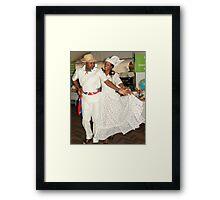 Curacao Waltz demonstration Framed Print