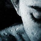 Woman and drops of rain by Olga Altunina