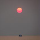 Steel Grey Sunset by rinajoy