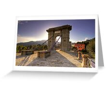 Bridge of the Chains Greeting Card
