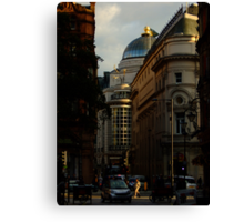 Shortcut in Piccadilly Circus Canvas Print