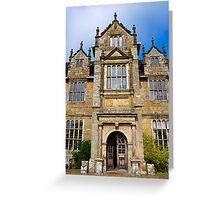 Wakehurst Place, National Trust Site Greeting Card